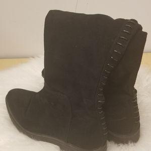 KENDALL & KYLIE Black Knee High Boots Sz 8 *EUC*